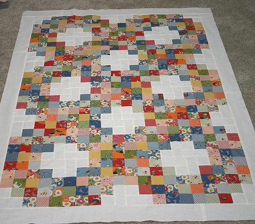 jelly roll quilt but could use charms