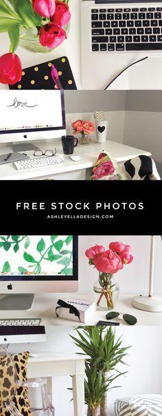 Need Blog Images? Free Stock Photos from Ashley Ella Design
