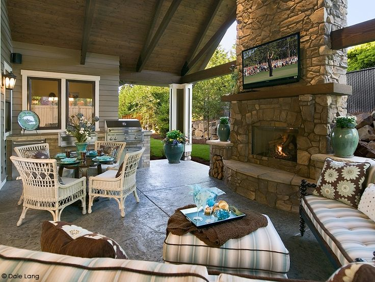 14 best outdoor tv areas images on pinterest | outdoor kitchens ... - Patio Tv Ideas