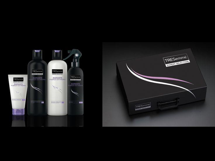 Presenter dirigido a los distribuidores para el lanzamiento de la nueva línea DIAMANTE FUERZA EXTREMA , con los productos y el catálogo. 2013. Unilever