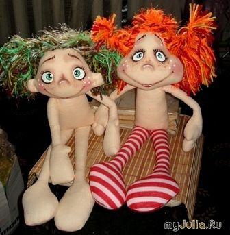 Как я рисую мордашки своим кукленам.: Дневник группы «Куклы Тильды и другие примитивные игрушки»: Группы - женская социальная сеть myJulia.ru