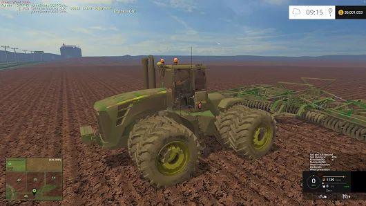 JD 9630 SELECTABLE V6.0 TRACTOR - Farming simulator 2015 / 15 LS mod