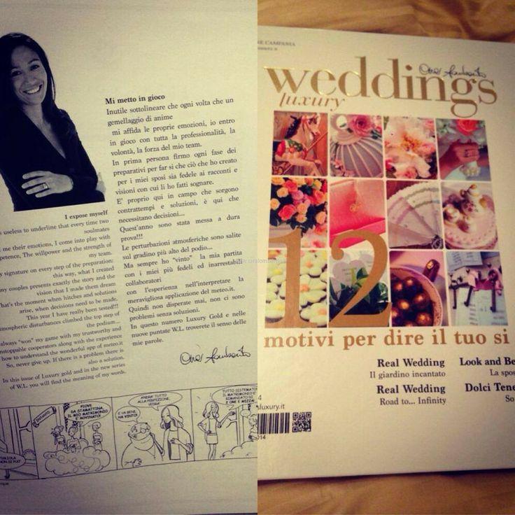 Weddings Luxury la rivista del wedding di Cira Lombardo. In edicola
