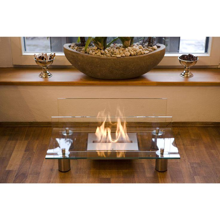 Buschbeck Crystal Bio Ethanol Indoor Fireplace