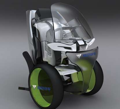 The 'Moovie' Electric Vehicle Features Two Driving Modes #eco #vehicles trendhunter.com