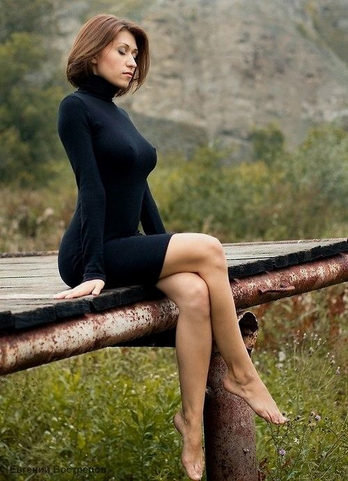 Babes In Tight Dress