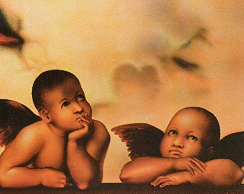 Simply Awesome! This beautiful little angel's wall poster will bring a sense of religious accents on your wall. This wall poster look gorgeous and you will definitely love this poster at every moment you look at it. This poster depicts the image of two little angels sitting together and thinking about something which is sure to grab lot of attention. It will be a perfect addition to any space and goes well with all décor style.