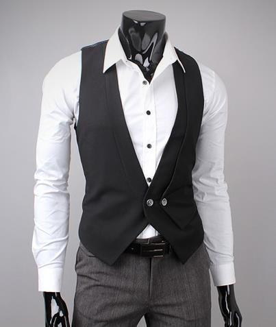 Designer Men Fashion Slim Fit Vest