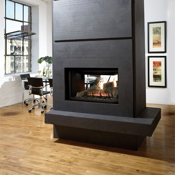 19 best See Through Fireplaces images on Pinterest | Direct vent ...