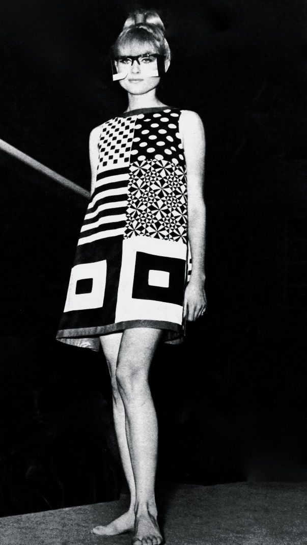 80 Best 1960s Op Art Fashion Images On Pinterest