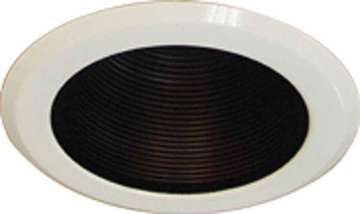 "Volume Lighting V8508 5"" Recessed Trim with Air Tight Cone Baffle Black Recessed Lights Recessed Trims Decorative Trims"