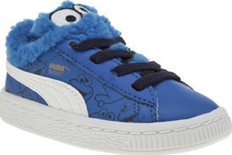 Puma Blue Basket Sesame Street Unisex Toddler Got a little Cookie Monster on your hands? Make sure their feet match their sugary appetite, with the super sweet PUMA Basket Sesame Street for kids. Arriving in leather, the classic profile is update http://www.comparestoreprices.co.uk/january-2017-8/puma-blue-basket-sesame-street-unisex-toddler.asp