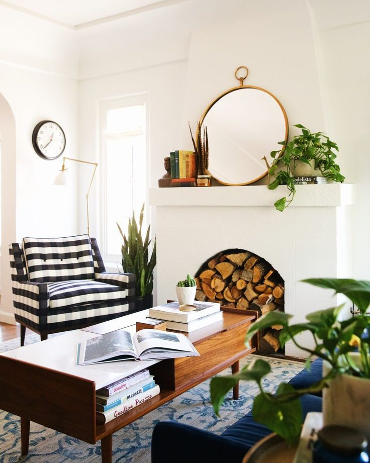New Darlings Lifestyle and Home Decor Blog - Living Room Makeover