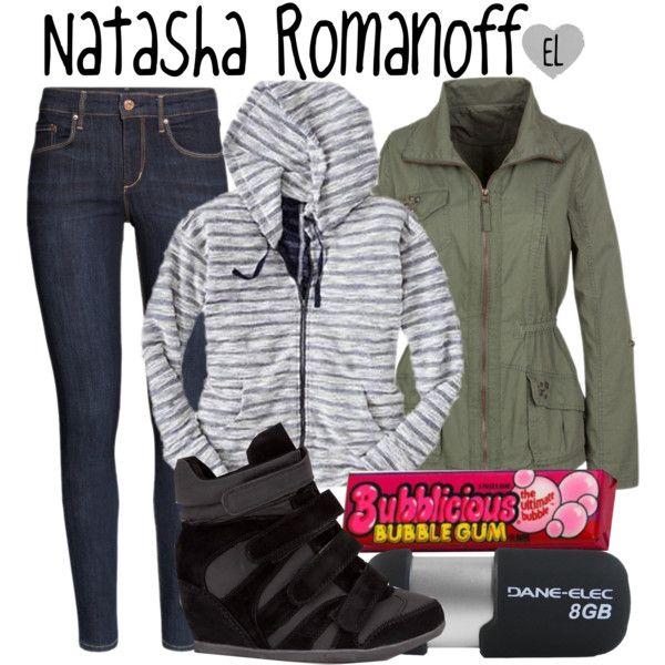"""Natasha Romanoff -- Captain America: The Winter Soldier"" by evil-laugh on Polyvore"