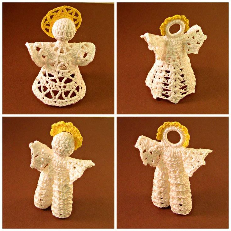 #HeritageHeartcraft- READY TO SHIP SALE Small white angels with gold halos, about 4 inches tall, $7 each. ~ Delta lace girl angel ~ Shell girl angel ~ Shell boy angel 1 ~ Shell boy angel 2
