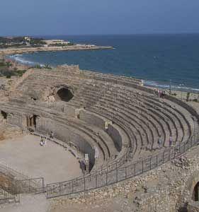 Tarragona, Catalonia. Roman amphitheatre