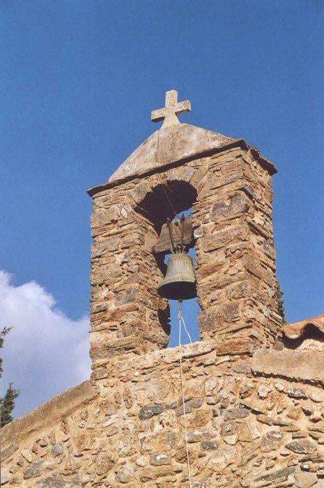 Agios Nikolaos – die angeblich älteste Kirche auf Kreta. Glockenturm.   http://www.claudoscope.eu/
