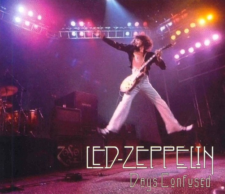 Led Zeppelin Days Confused March 5 1973 At Memorial