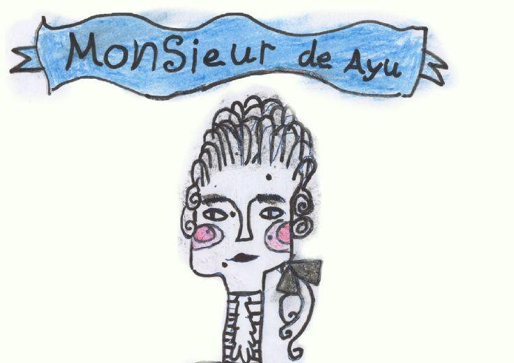Monsieur de Ayu from Noah Edward and the Time traveling adventure book #MonsieurdeAyu #NoahEdwardbooks #NoahEdward