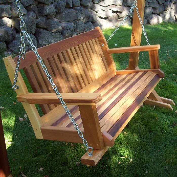 1000 images about arts crafts craftsman frank lloyd for How to build a swing set for adults