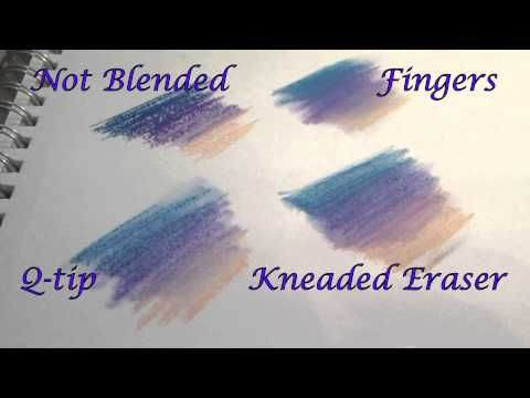Tutorial:  Chalk Pastels, Blending and Layering