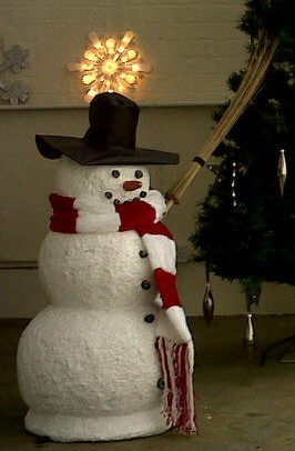 is this frosty the snowman?
