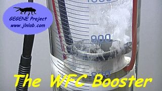 TEST-S02E03 : Test of the Meyer's Water Fuel Cell (WFC) with pure osmosed water