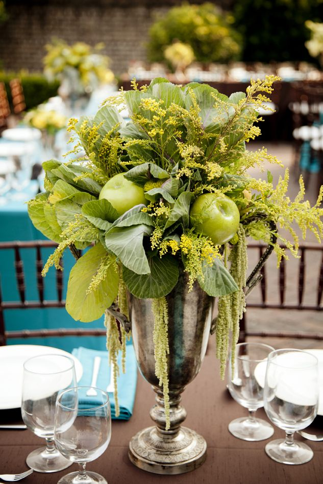 Thanksgiving centerpieces natural looking ideas
