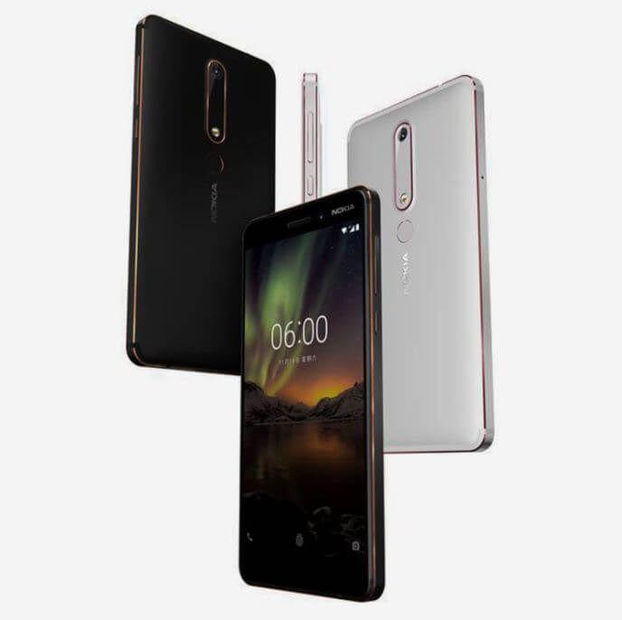 Nokia 6 2018 offiziell vorgestellt