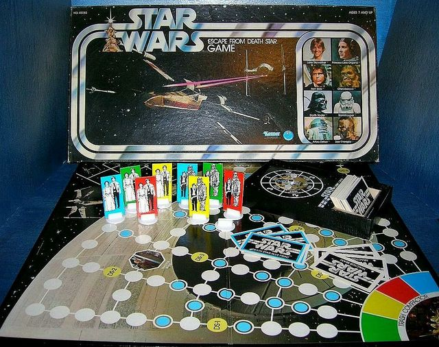 Star Wars board game.