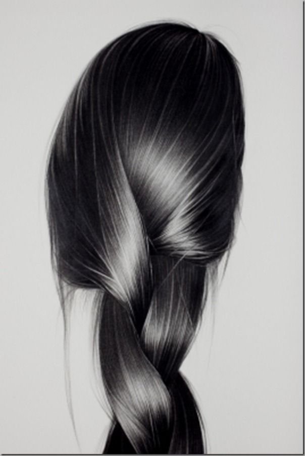 realistic charcoal drawings