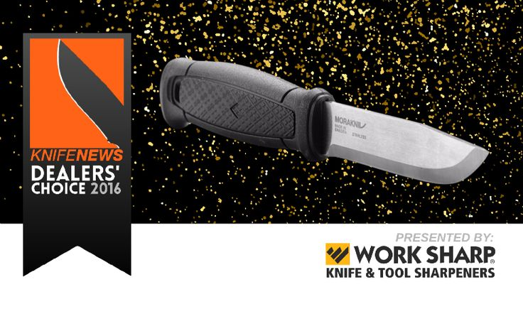 We are pleased to announce that the Mora Garberg is the winner of the KnifeNews Dealers' Choice Award for Best New Outdoor Fixed Blade 2016.