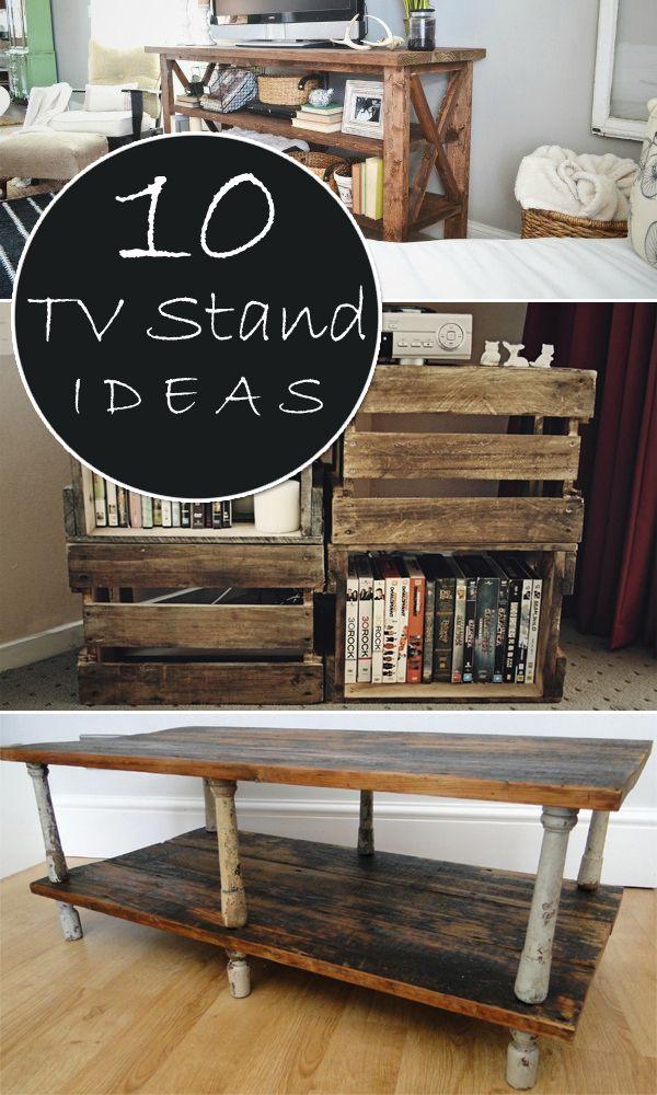 10 Unique DIY TV Stand Ideas
