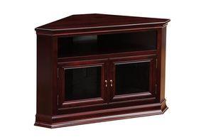 corner entertainment console small   Breckenridge #32 Corner TV Stand - Ohio Hardwood Furniture