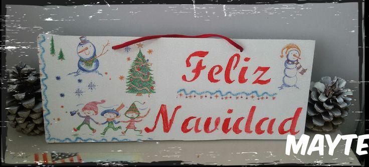 Cartel navideño deacupeage