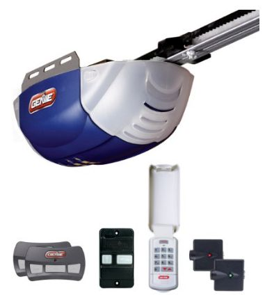 7. Genie 2042-TKC QuietLift 800 1/2+ HP DC Belt Garage Door Opener