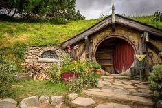 Hobbiton in Neuseeland http://www.neuseeland-special-tours.de/drehorte-herr-der-ringe/