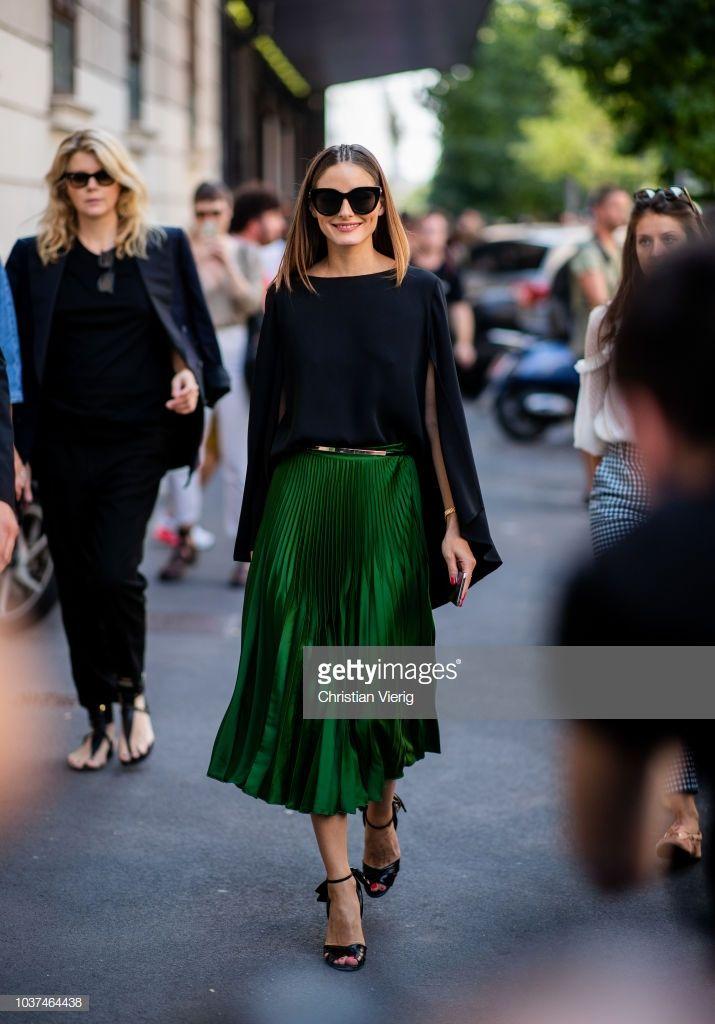 b4adfe7340 Street Style  September 21 - Milan Fashion Week Spring Summer 2019 ...
