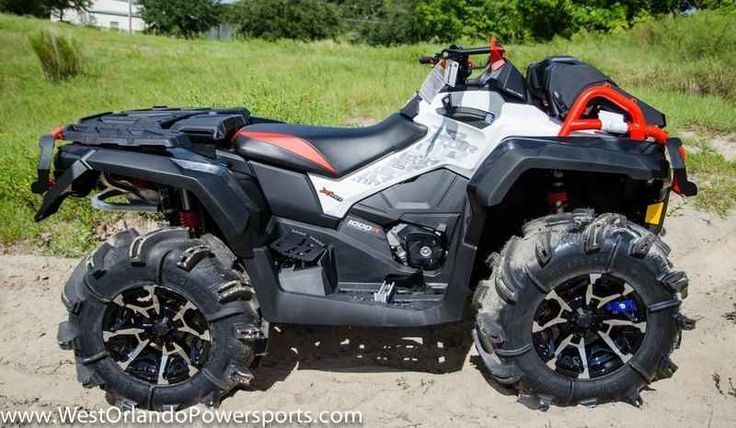 New 2017 Can-Am Outlander X mr 1000R Black, White & Can- ATVs For Sale in Florida. 2017 Can-Am Outlander X mr 1000R Black, White & Can-Am Red, FREE GO PRO OR UTILITY TRAILER WHEN PURCHASED AT MSRP! THE ULTIMATE FACTORY-READY MUD MACHINE. 2017 Can-Am® Outlander X® mr 1000R Black, White & Can-Am Red THE ULTIMATE FACTORY-READY MUD MACHINE. Horsepower matters when it comes to mud riding. That's why the Outlander X mr 1000R is built with an 89-hp Rotax® 1000R V-Twin engine. Take on any mud…