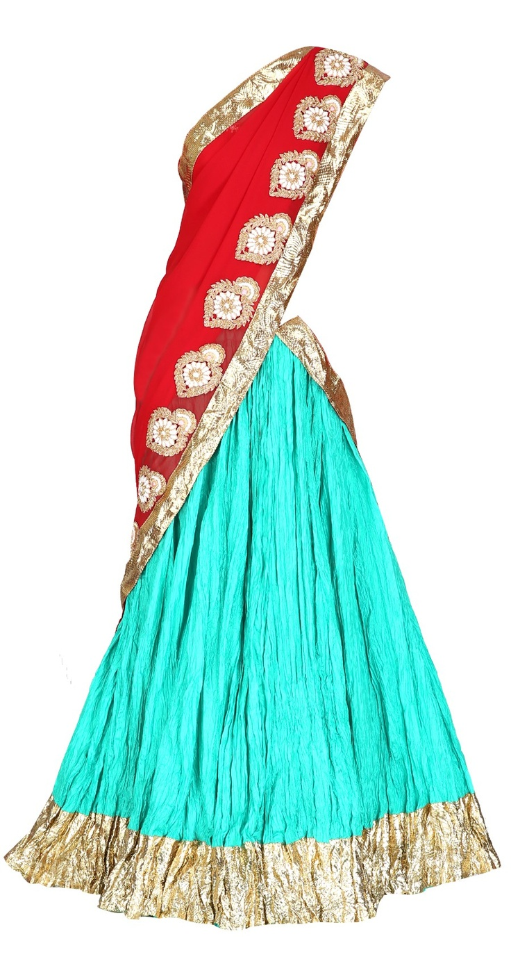 Masaba silk lehenga with embroidery, wedding outfit