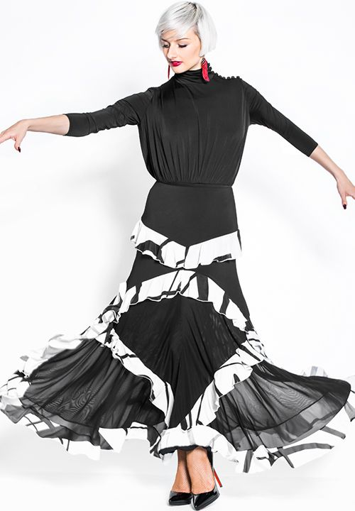 Espen Oroville Skirt L2 | Dancesport Fashion @ DanceShopper.com