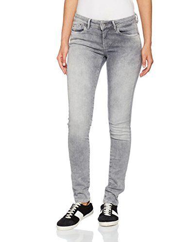 Pepe Jeans Pixie Jeans Femme Gris (Denim F80) W29 L30  1067b3bd178f