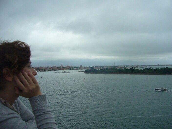 Disfrutando de la brisa en Venecia/Enjoying Venice's breeze