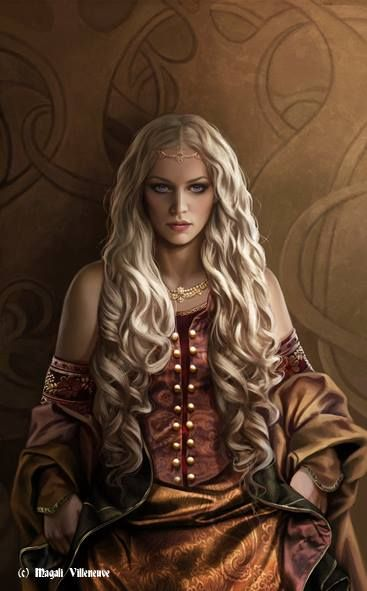 "Rhaenyra From ""A World of Ice and Fire"" ~ Magali Villeneuve"