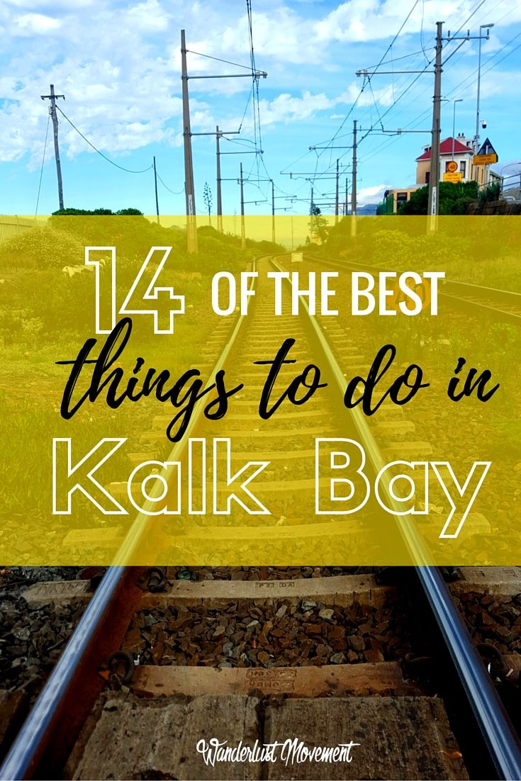 14 of the Best Things to do in Kalk Bay | If you are heading to Cape Town, South Africa make sure to stop at the Southern Peninsula and visit Kalk Bay! It's a small coastal town filled with bohemian boutiques, trendy cafes, and beautiful scenic views. Click to find out what the best things to do in Kalk Bay are or pin and save for later. | Cape Town | South Africa Travel