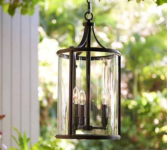 Delightful Belden Indoor/Outdoor Pendant | Pottery Barn · Pendant Light FixturesPendant  ...