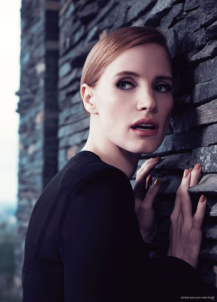 Jessica Chastain by Max Vadukul