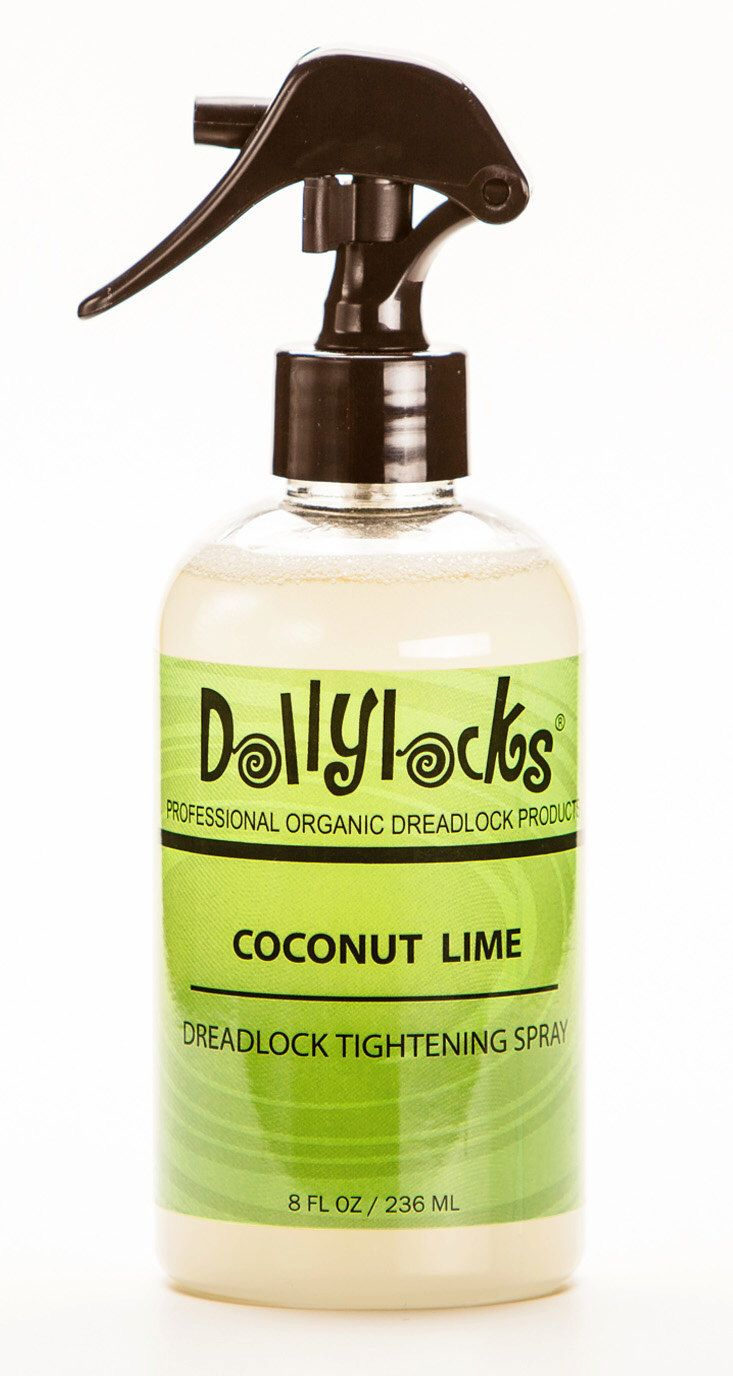 Dollylocks Organic Dreadlock Products - 8oz Coconut Lime Tightening Spray by Dollylocks on Etsy https://www.etsy.com/listing/174064518/dollylocks-organic-dreadlock-products