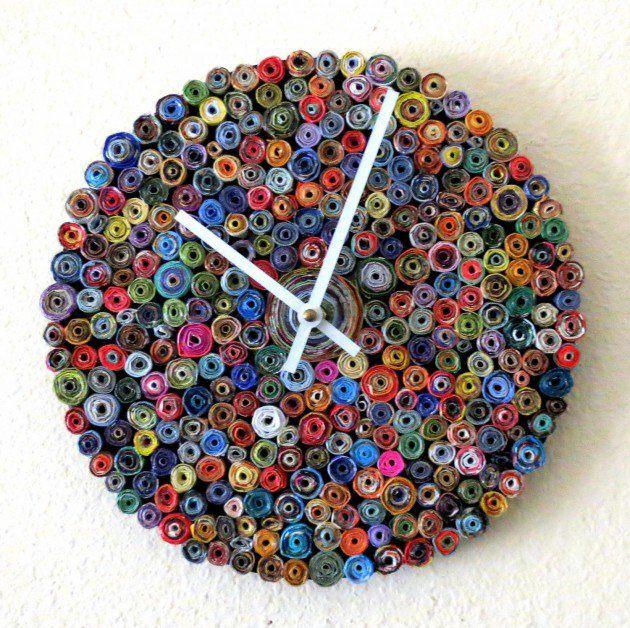 20 Stunning & Unique Handmade Wall Clocks