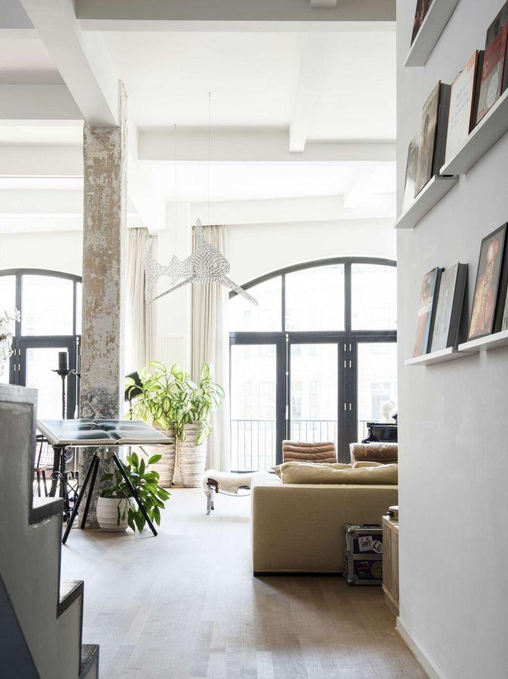 Les 796 meilleures images du tableau loft industrial recup sur pinterest int rieur vivre - Deco grote woonkamer ...